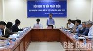 Tư vấn, phản biện quy hoạch chung đô thị Việt Yên đến năm 2035