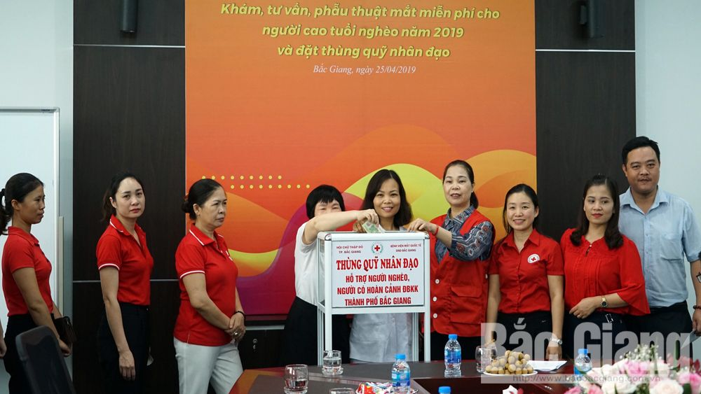 Bac Giang province, charity work, humanitarian month, Vietnam Red Cross Society, Connecting, sharing and spreading,