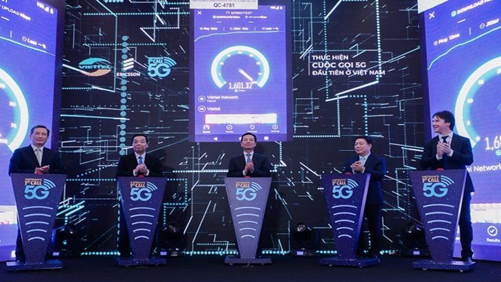 Thực hiện thành công cuộc gọi 5G đầu tiên tại Việt Nam