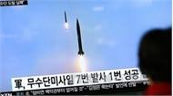 Nhật Bản phản đối vụ phóng tên lửa của Triều Tiên