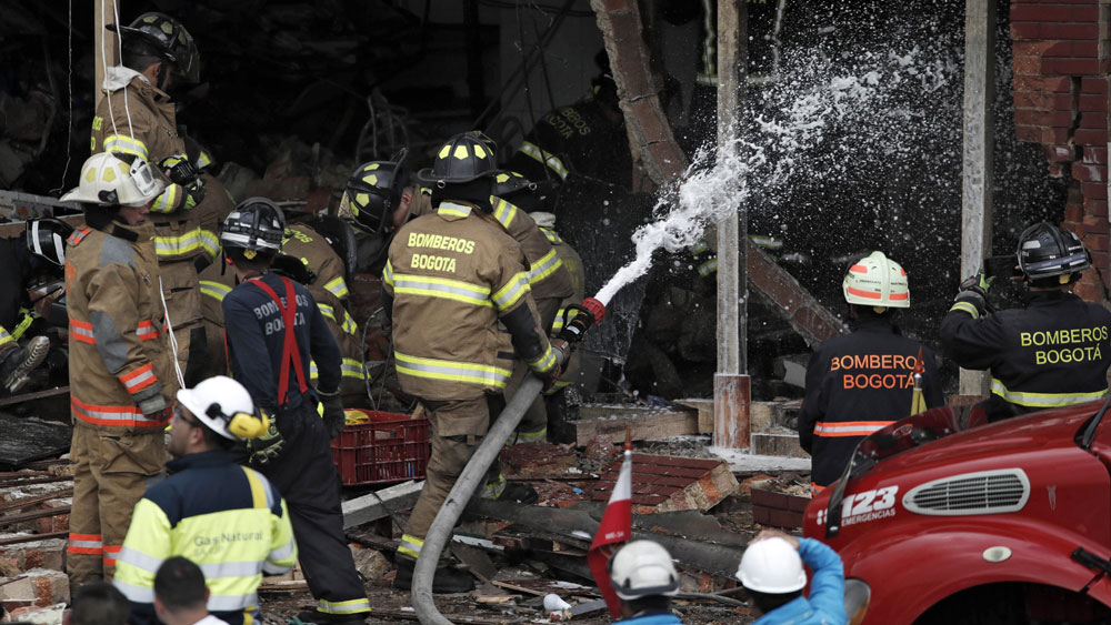 Colombia, nổ nhà máy thuốc súng, 30 người thương vong