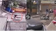 Camera và hiện trường vụ nữ tài xế lùi Camry cán chết người đi xe máy