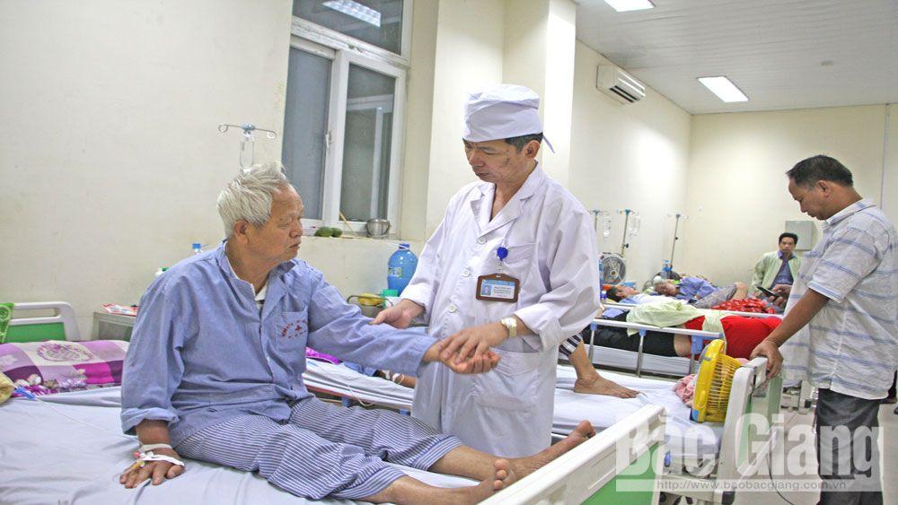 Mùa hè, gia tăng bệnh nhân đột quỵ