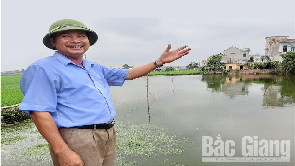 Vitality of fish breeding along Cau River