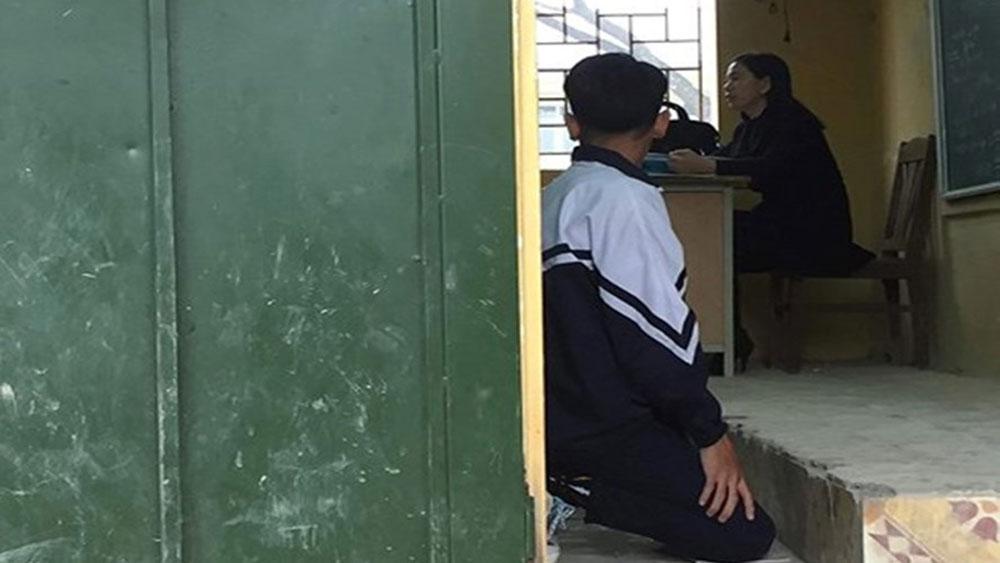 Đình chỉ, cô giáo, thường xuyên, bắt học sinh quỳ gối, Hà Nội, Trường THCS Tô Hiệu, cô giáo Lê Thị Quy