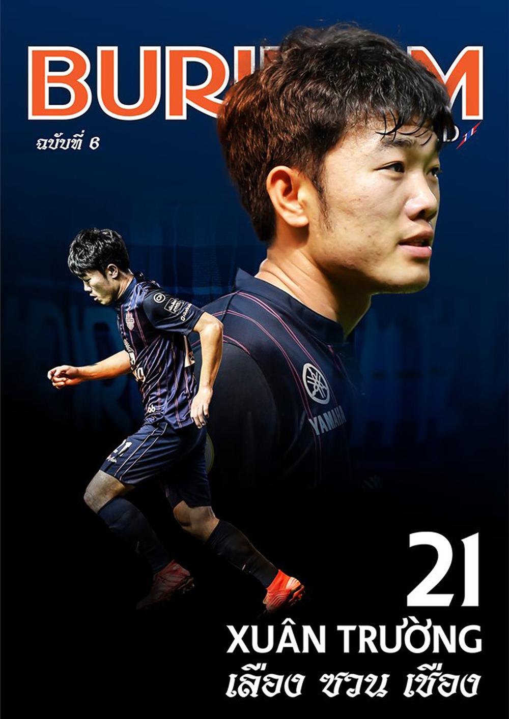 Xuân Trường, Lương Xuân Trường, Buriram United, Thai League, trực tiếp, Xuân Trường trực tiếp, Thai League, Xuân Trường ghi bàn cho Buriram, United King's Cup