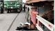 Xe máy va chạm với xe tải trên cao tốc Hà Nội - Bắc Giang, một người trọng thương