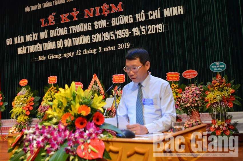 Bắc Giang: Hội Truyền thống Trường Sơn – đường Hồ Chí Minh kỷ niệm 60 năm Ngày mở đường Trường Sơn 19-5
