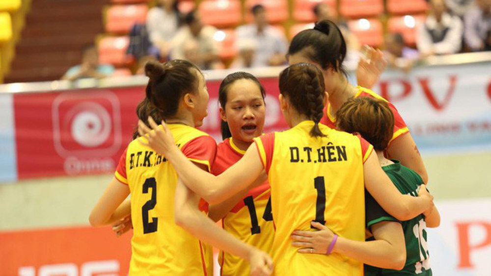 Binh Dien, Int'l Women's Volleyball Tournament, Kien Giang province,  nine-day event, round-robin format, opening ceremony, domestic and international friends