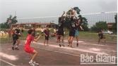 Lạng Giang: Khuyến khích phong trào bóng chuyền nam