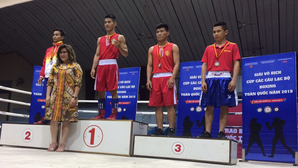 Bac Giang wins two silvers at 2019 National Boxing Clubs Championship