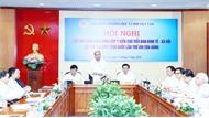 Hội nghị các nhà khoa học đóng góp ý kiến cho Tiểu ban Kinh tế- Xã hội Đại hội XIII của Đảng