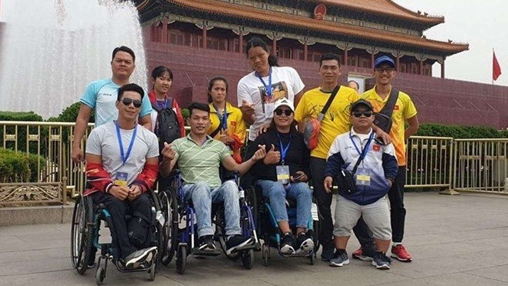 Vietnam shines at 2019 World Para Athletics Grand Prix in China