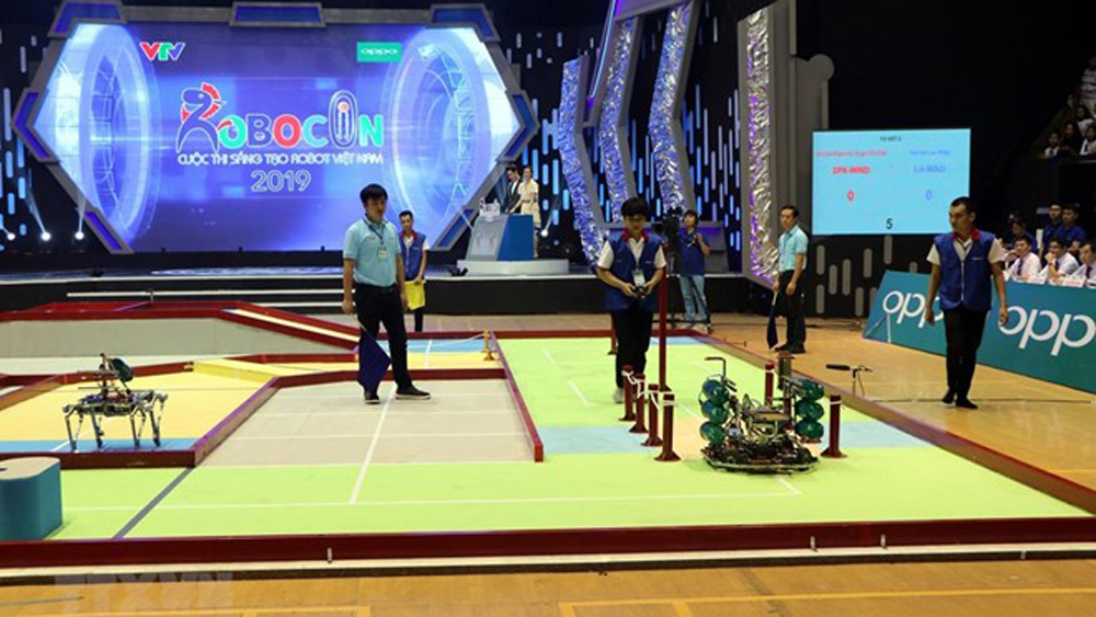Lac Hong team won Robocon Vietnam 2019