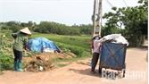 Thu giá dịch vụ vệ sinh môi trường ở Lạng Giang: Làng quê sạch đẹp, dân đồng thuận