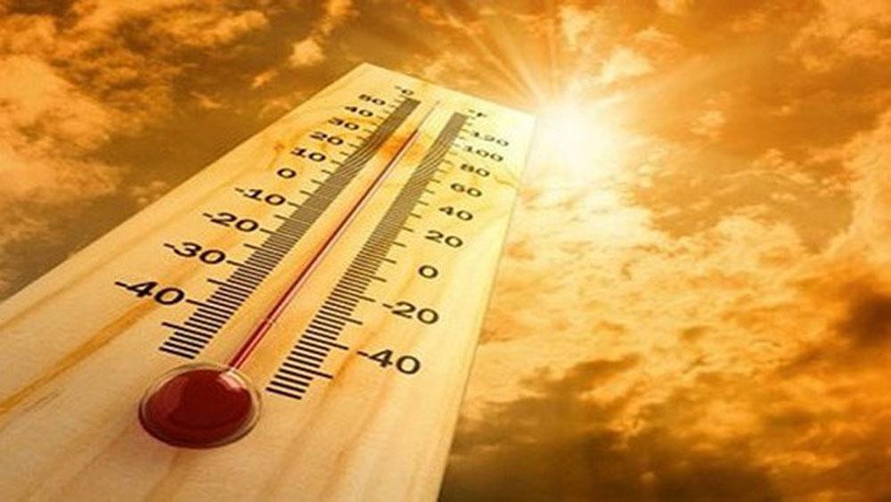 Dự báo, đợt nắng nóng đỉnh điểm, từ nay đến hết tháng 5