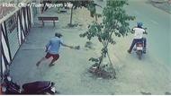Rủ nhau đi trộm xe máy thấy bị phát hiện liền bỏ đồng bọn chạy thoát thân