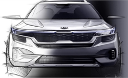 Kia hé lộ thiết kế xe SUV cỡ nhỏ mới