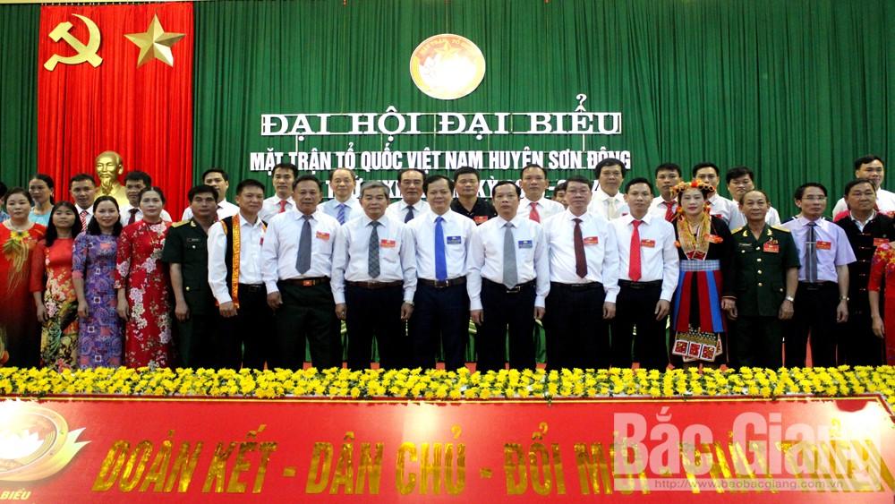 Ông Hoàng Duy San, tiếp tục, được bầu, giữ chức, Chủ tịch, Uỷ ban MTTQ huyện