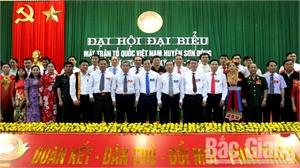 Ông Hoàng Duy San tiếp tục được bầu giữ chức Chủ tịch Uỷ ban MTTQ huyện Sơn Động