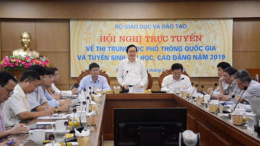 Bộ trưởng Phùng Xuân Nhạ, tổ chức thi THPT quốc gia 2019