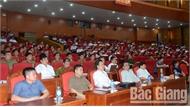 """BTV Tỉnh ủy Bắc Giang quán triệt Quy định số 126 của Bộ Chính trị """"Một số vấn đề về bảo vệ chính trị nội bộ Đảng"""""""