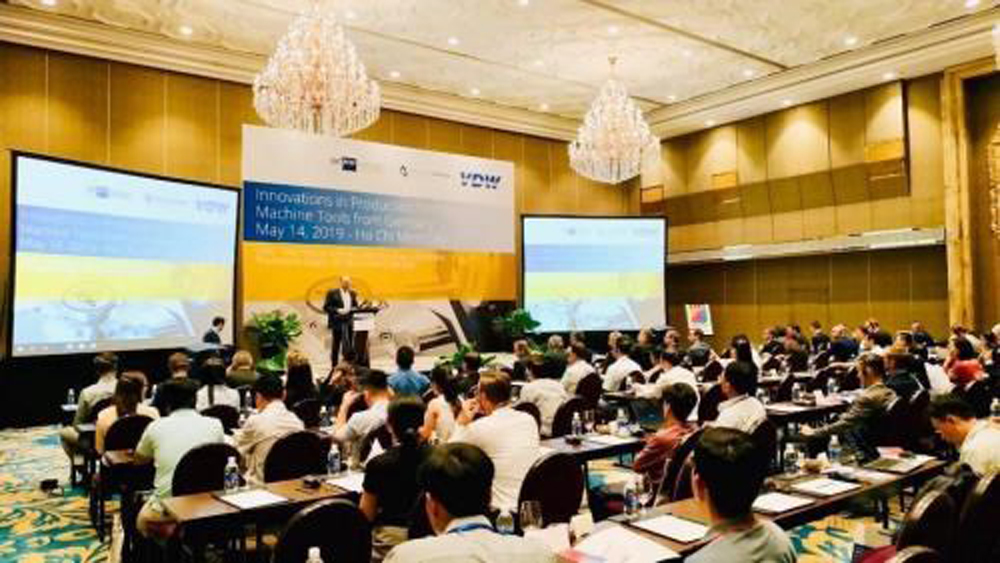 German machinery firms, opportunities in Vietnam, machine tool manufacturing, new products and technologies, digital solutions, rapid economic development