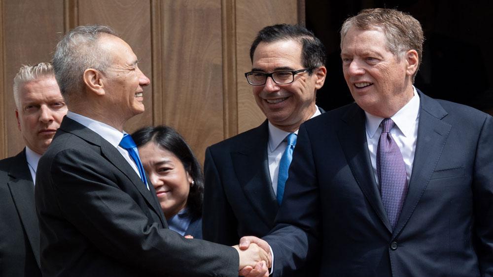 Mỹ, thúc đẩy, đàm phán thương mại, Trung Quốc