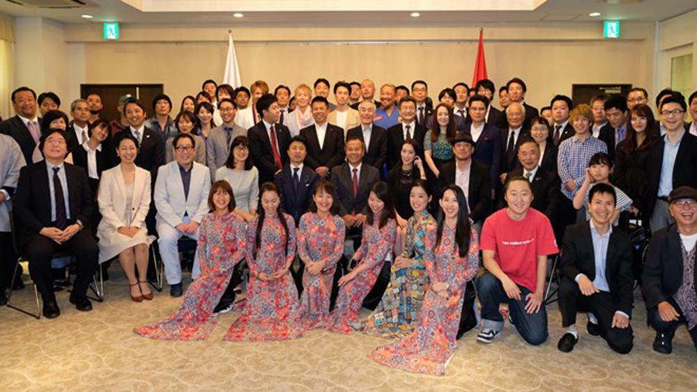 Vietnam Festival 2019, Tokyo, June, Yoyogi park, cultural event, Japanese friends,  mutual understanding,  people-to-people exchanges