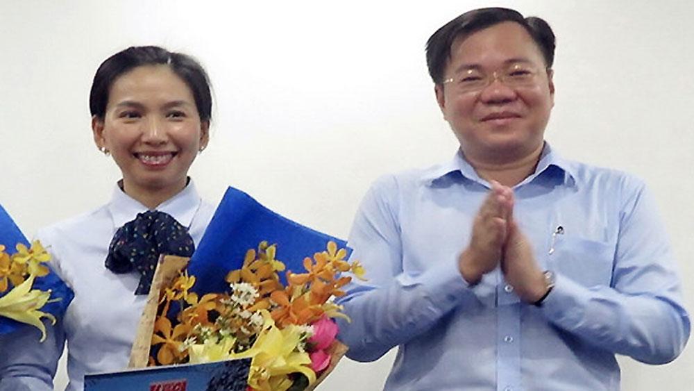 Tổng giám đốc Công ty phát triển Nam Sài Gòn - Sadeco, bị bắt, Bà Hồ Thị Thanh Phúc, Tổng giám đốc IPC Tề Trí Dũng