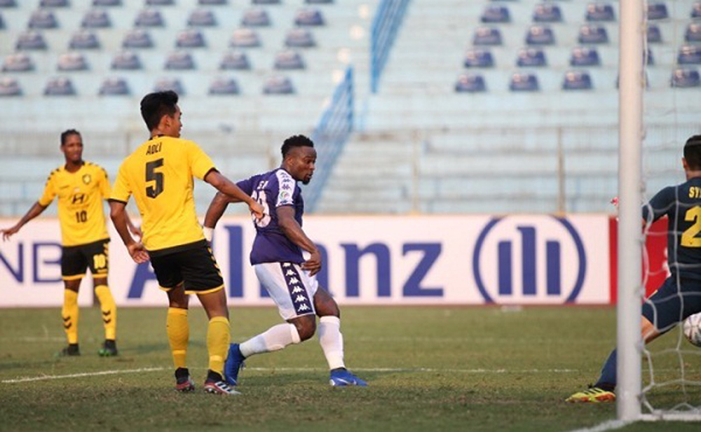 CLB Hà Nội, Tampines Rovers, AFC Cup