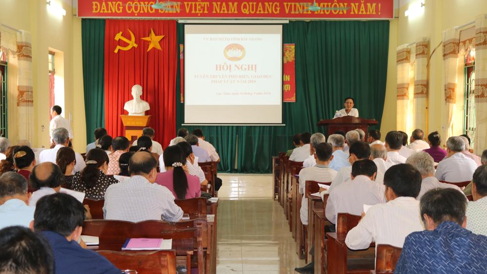 Hội nghị tuyên truyền, phổ biến, giáo dục pháp luật