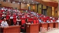 Tỉnh ủy Bắc Giang thông tin thời sự và quán triệt các chỉ thị về công tác đối ngoại đa phương