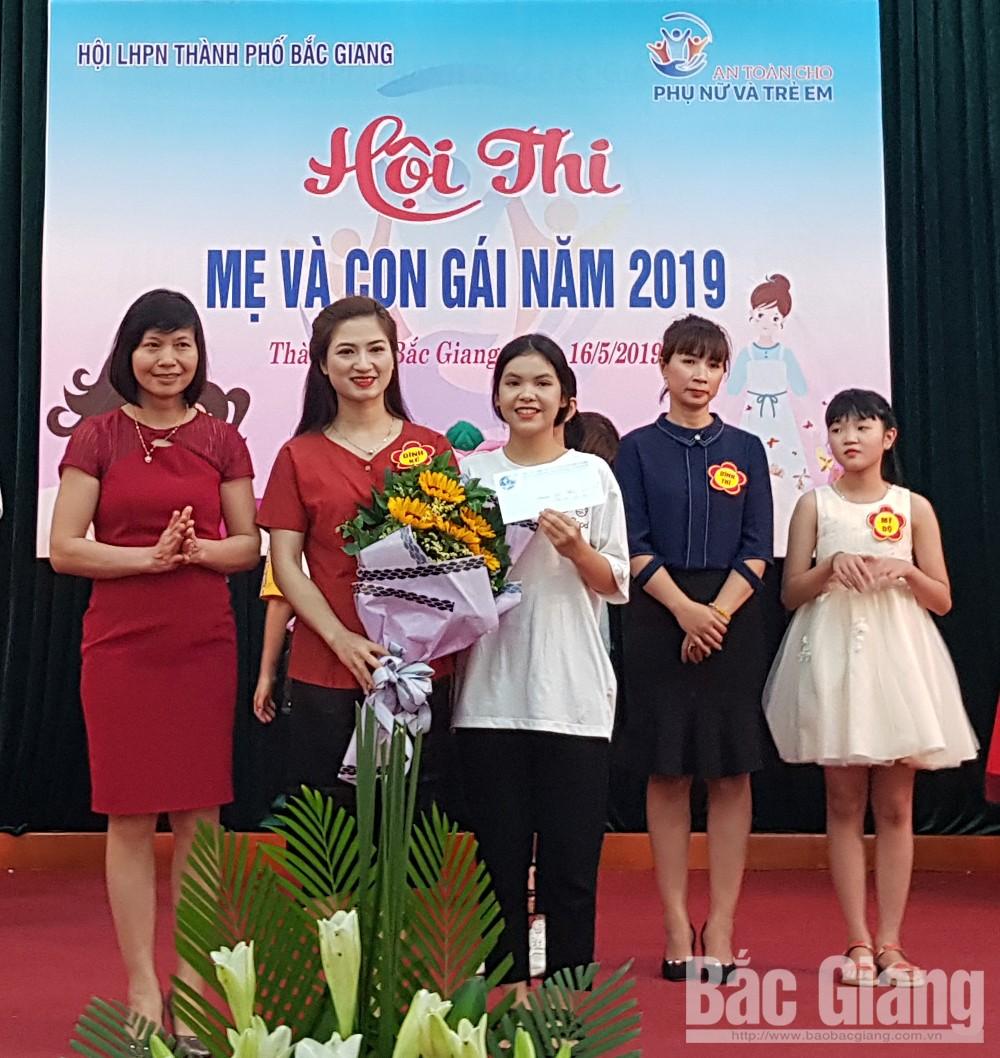 TP Bắc Giang tổ chức Hội thi Mẹ và con gái, TP Bắc Giang