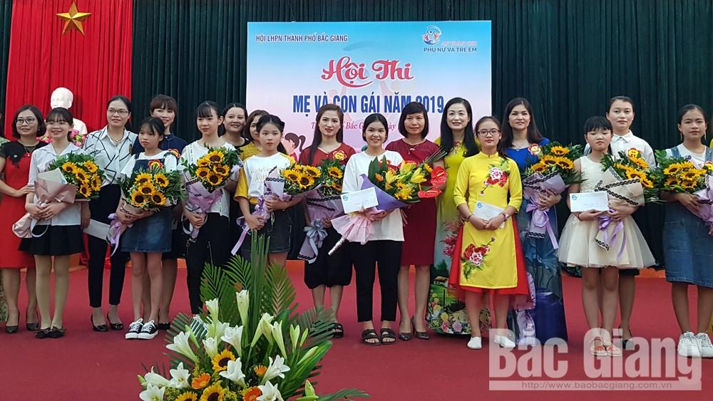 """TP Bắc Giang tổ chức Hội thi """"Mẹ và con gái"""""""