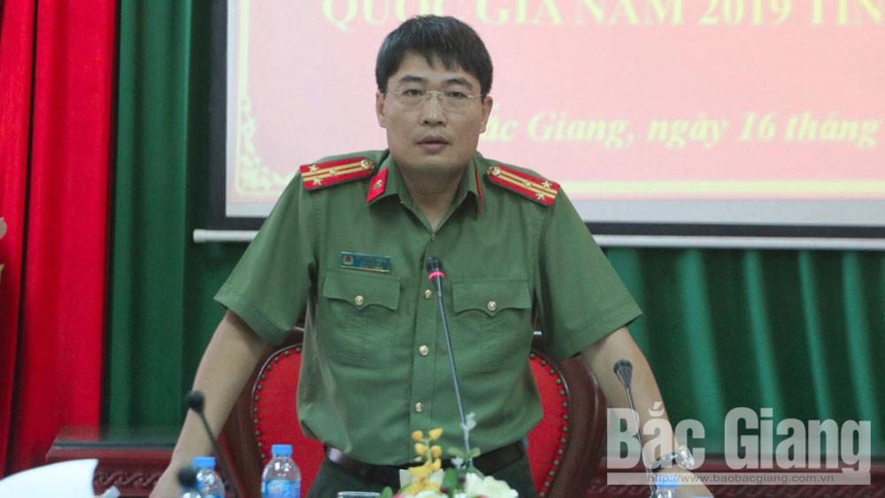 Bắc Giang, quốc gia THPT, công an, bảo đảm ANTT, Công an tỉnh Bắc Giang