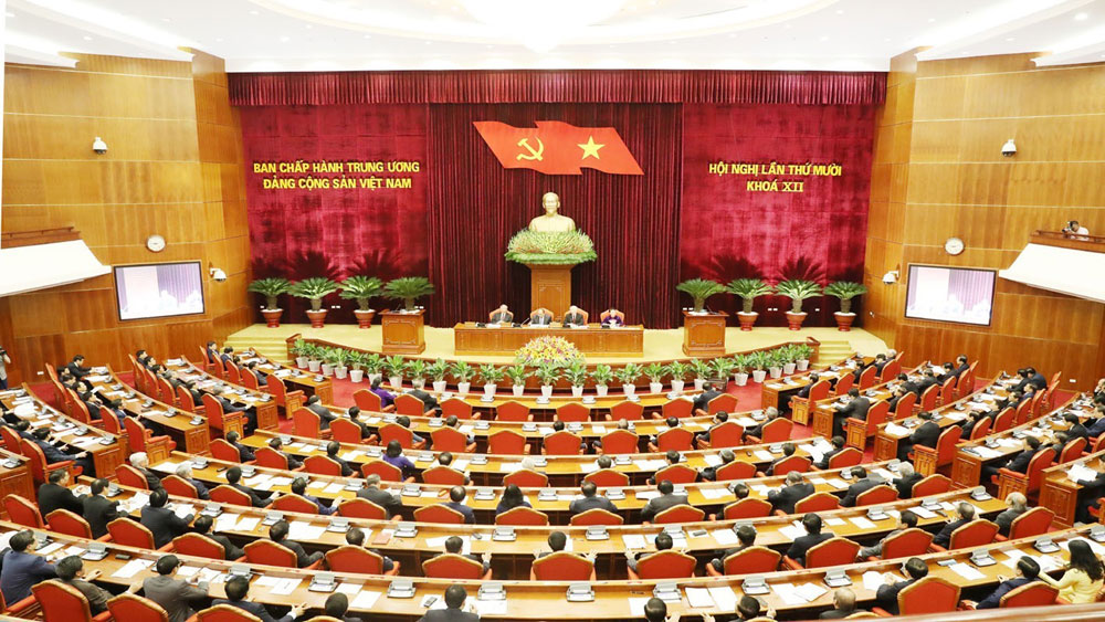 Khai mạc, trọng thể, Hội nghị lần thứ 10 Ban Chấp hành Trung ương Đảng