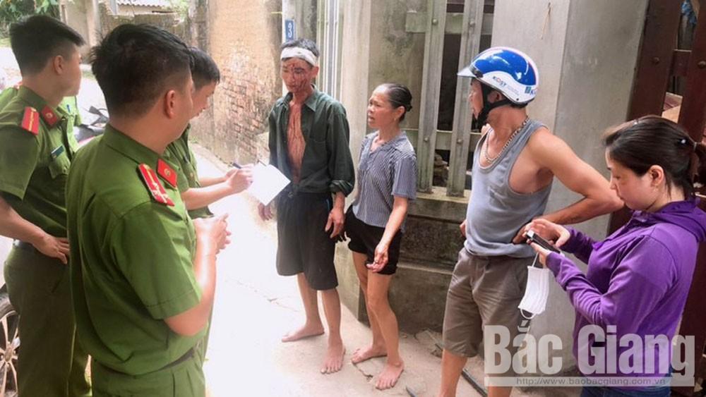 Bắc Giang, chém người, cố ý gây thương tích, tỉnh Bắc Giang