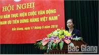 """Tiếp tục tạo sức lan tỏa từ cuộc vận động """"Người Việt Nam ưu tiên dùng hàng Việt Nam"""""""
