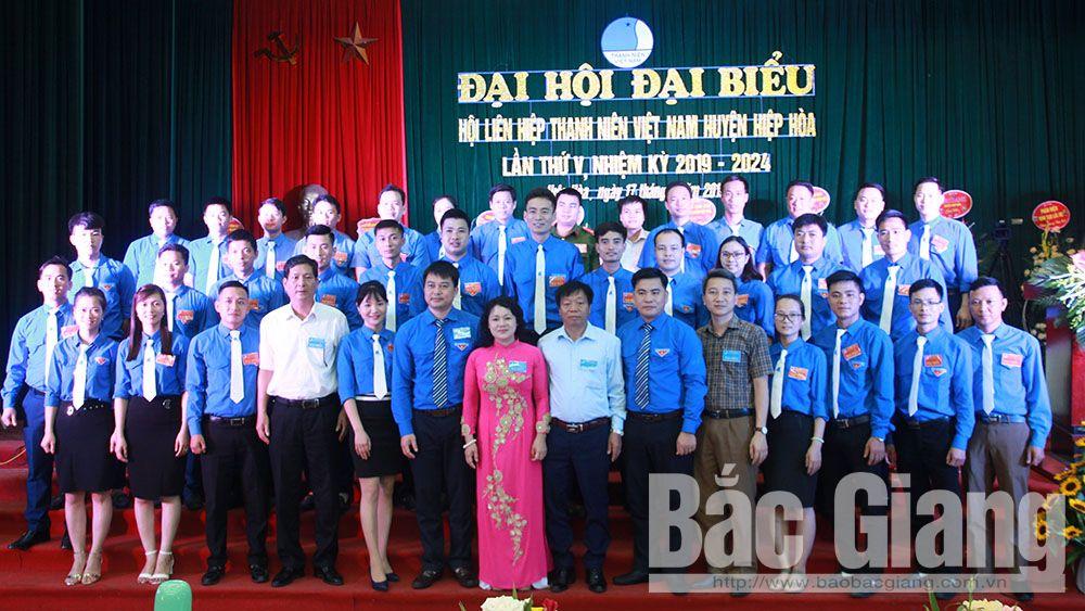 Đại hội điểm Hội Liên hiệp Thanh niên huyện Hiệp Hòa
