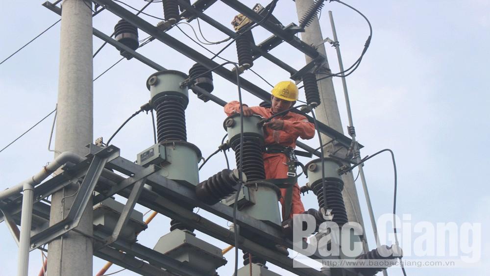 Bắc Giang, nhu cầu, sử dụng, điện tăng mạnh