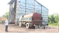 Yêu cầu Nhà máy gạch Liên Tân (Yên Thế) dừng hoạt động, thực hiện các giải pháp bảo vệ môi trường