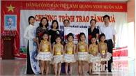 Phó Bí thư Thường trực Tỉnh ủy Bắc Giang Lê Thị Thu Hồng thăm, tặng quà Tết thiếu nhi 1 - 6 tại  Việt Yên