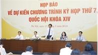Kỳ họp thứ 7, Quốc hội khóa XIV: Tập trung cho công tác xây dựng pháp luật