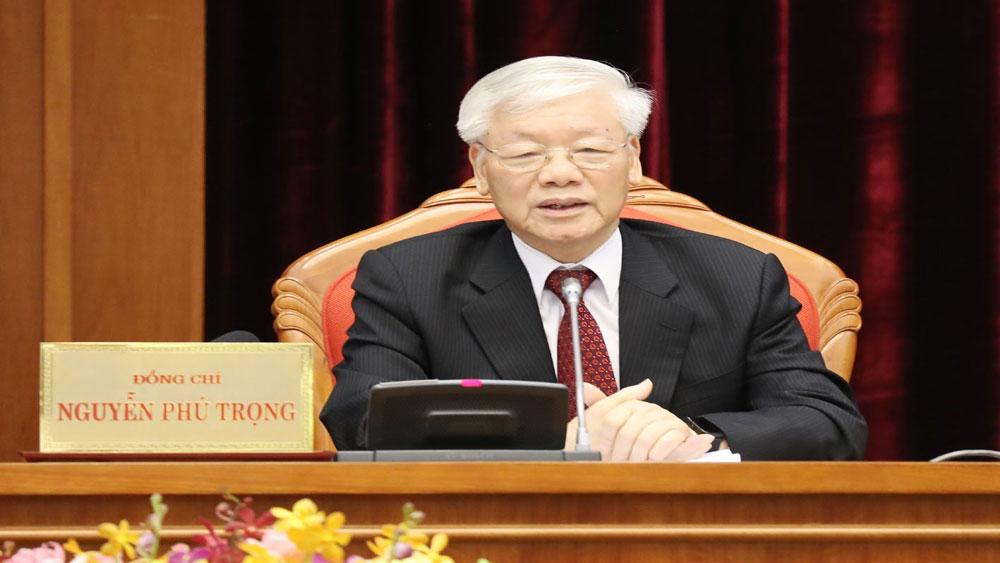 Bế mạc, Hội nghị lần thứ 10, Ban Chấp hành Trung ương Đảng khóa XII, Tổng Bí thư, Chủ tịch nước Nguyễn Phú Trọng