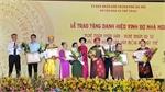 Hanoi honours prominent folklore artisans