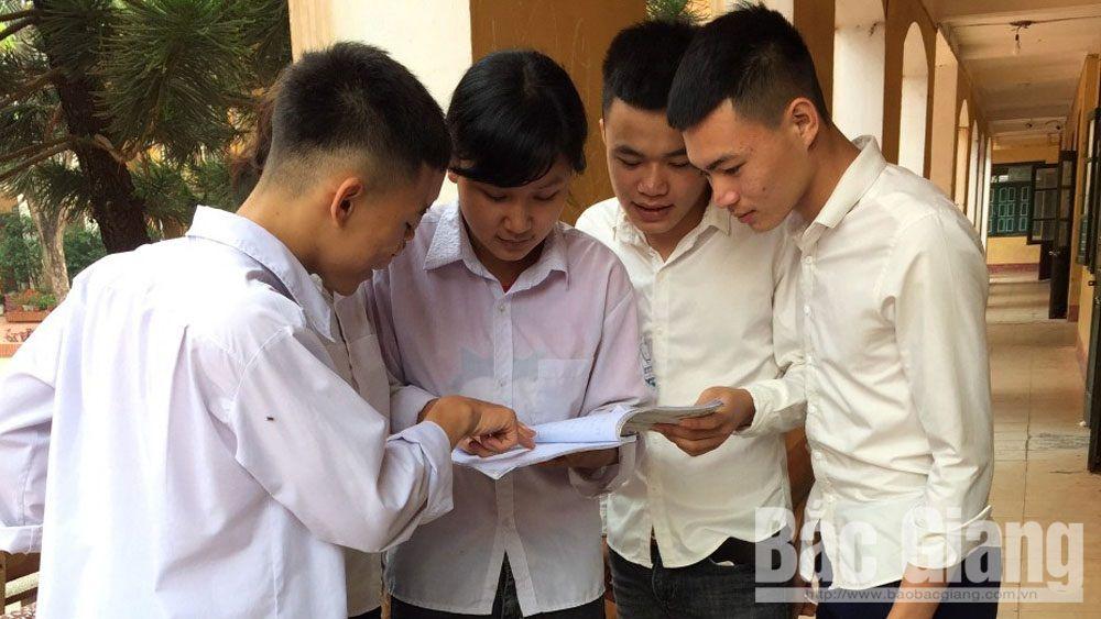 THPT quốc gia, thi thử, giáo dục, bắc giang, quy chế thi, Sở Giáo dục và Đào tạo tỉnh Bắc Giang