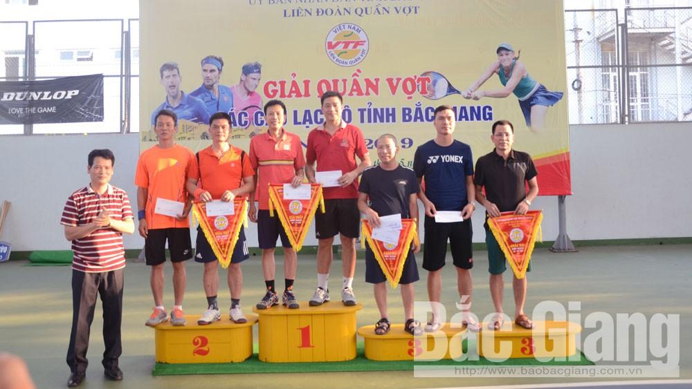 Kết thúc, giải quần vợt, các CLB, năm 2019