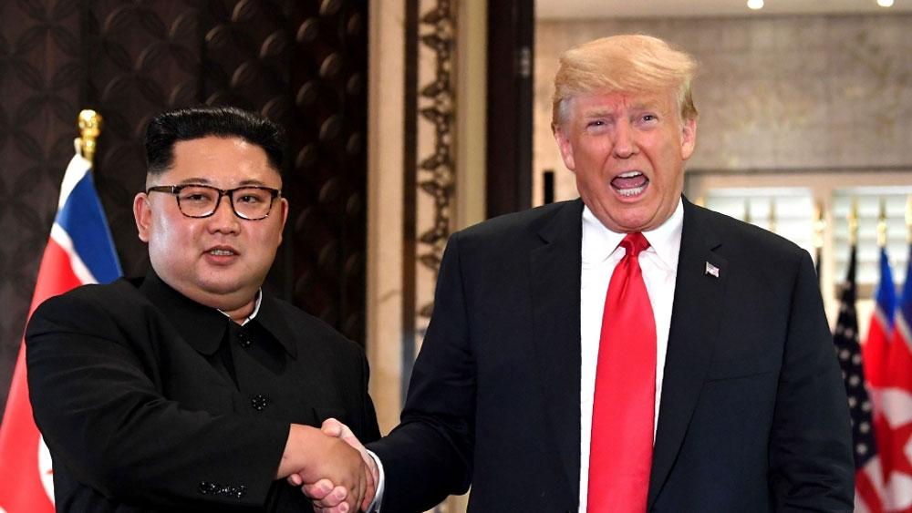 Báo Nhật Bản, kêu gọi, Mỹ ngừng yêu cầu Bình Nhưỡng, từ bỏ hạt nhân trước, Báo Chosun Sinbo (Nhật Bản)