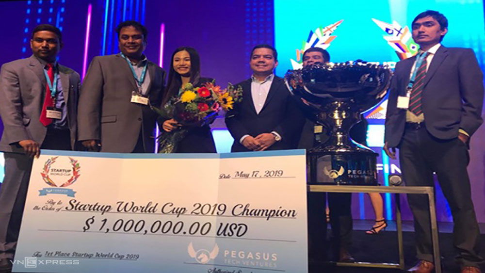 Startup Việt vô địch thế giới giành thưởng 1 triệu USD